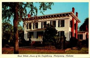 Alabama Montgomery First White House Of The Confederacy