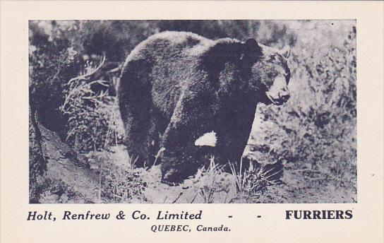 Holt, Renfrew & Co. Limited -- FURRIERS , Quebec , Canada , 20-40s