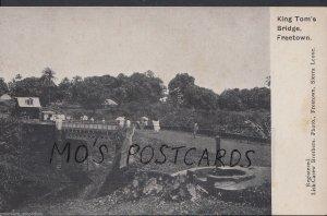Sierra Leone Postcard - King Tom's Bridge, Freetown     MB1105