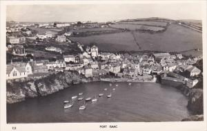 England Tintagel Port Isaac Panorama Real Photo