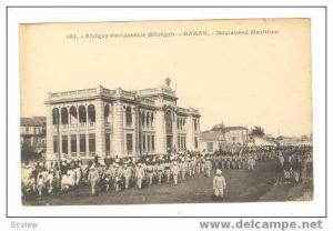 DAKKAR, Senegal, Boulevard Maritime, Militray parade, 00-10s