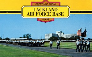 TX - San Antonio. Lackland Air Force Base