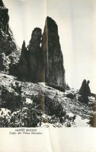 Romania Bucegi mountains  Coltii din Valea Horoabei