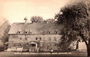 Pennsylvania Denver Saron House Ephrata Cloisters