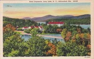 New York Adirondack Mountains Hotel Sagamore On Long Lake 1930 Curteich