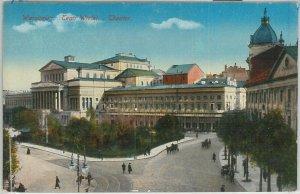 66361 - Polen POLAND - Ansichtskarten  VINTAGE POSTCARD -  WARSAW  Warszawa