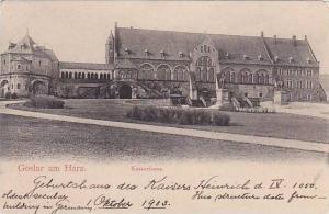 Kaiserhaus, Goslar Am Harz (Lower Saxony), Germany, 1900-1910s