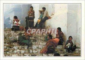 Postcard Modern Guatemala Chichicastenango