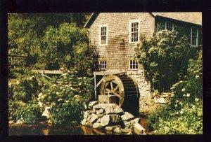 Brewster, Massachusetts/MA Postcard, Fulling Mill, Oldest US Mill, Cape Cod