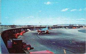Logan Airport Boston MA Airplane Aviation Unused Vintage Postcard F60