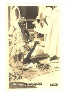 RP, Native Vendor, Willemstad, Curacao, Netherland Antilles, 1920-1940s