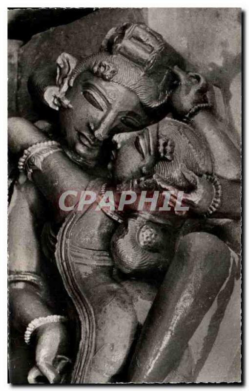 Modern Postcard Temple of Khajuraho India has Kandarya