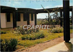 Postcard Modern Bouake (Cote d'Ivoire) The Monastery of the Good News the Inn...