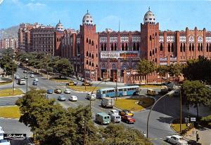 Spain Old Vintage Antique Post Card Plaza de Toros Monumental Barcelona 1973