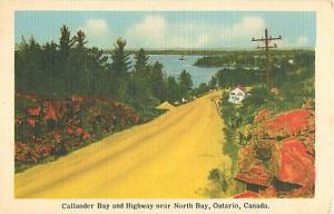 Linen of Callander Bay & Highway near North Bay Ontario ON