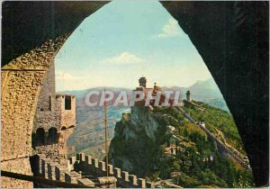 Postcard Modern Repubblica di S Marino Tours Hunting Archery