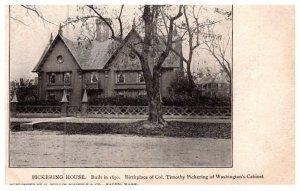 Massachusetts Salem ,Birthplace of Col. Timothy Pickering