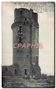 Old Postcard Montlhery Tower Dungeon Old Du Chateau De Montlhery
