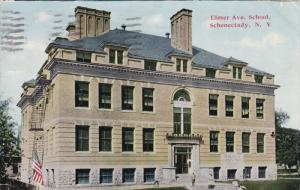 SCHENECTADY, New York, PU-1914; Elmer Avenue School