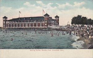 Ohio Cleveland Bathing Scene Gordon Park