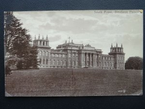 Oxfordshire BLENHEIM PALACE South Front c1905 RP Postcard by Valentine