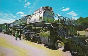Trains Union Pacific 4-8-8-4 Locomotive #4012 World's Largest Locomotive