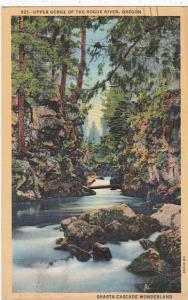 Oregon Portland Upper Gorge Of The Rogue River 1947