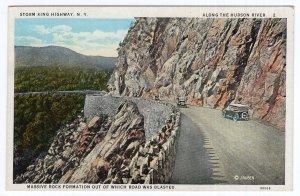Storm King Highway, N.Y., Along The Hudson River