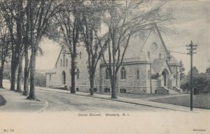 WESTERLY , Rhode Island , PU-1905 ; Christ Church