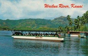 Wailua River , Kauai , Hawaii  ,1950-60s ; Smith's Boat