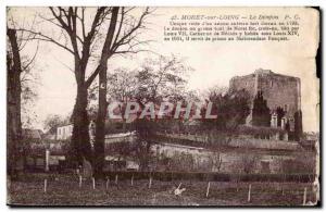 Moret sur Loing - Le Donjon - Old Postcard