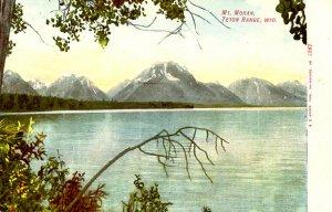 WY - Grand Teton National Park. Mt. Moran & Jenny Lake