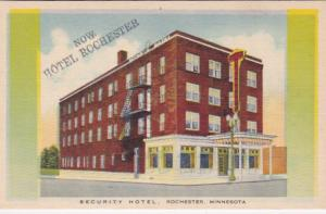 Minnesota Rochester New Hotel Rochester Formerly Security Hotel