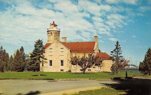 Mackinaw City Michigan~Michilimackinac State Park~1960 Postcard