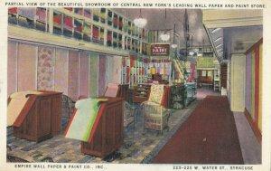 SYRACUSE , New York, 1900-1910s; Empire Wall Paper & Paint Company