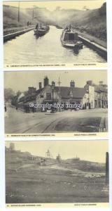 su3298 - Train, LMS Boat, Omnibus ect. Stourbridge, Dudley Library - 6 postcards