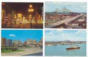 4 postcards, New Orleans, Lousiana, 40-60s #2