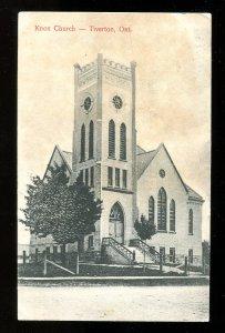 dc442 - TIVERTON Ontario 1906 Knox Church
