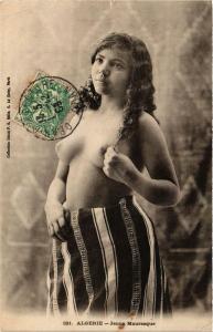 CPA ALGERIE Jeune Mauresque ETHNIC NUDE (574063)