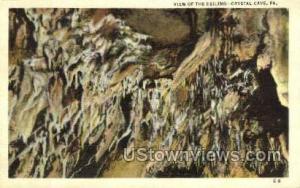 Crystal Cave, Pennsylvania, PA, Post Card -pa_qq_2468