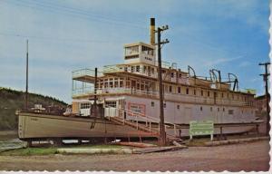 SS Keno Dawson City Yukon YT Sternwheeler Yukon River Vintage Postcard E6