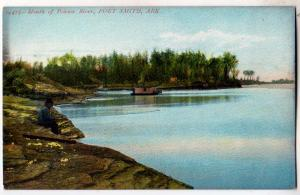 Mouth of Poteaw River, Fort Smith Ark