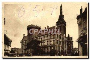 Postcard Old Angouleme Hotel de Ville