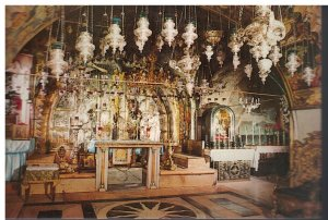 Postcard - Church Of The Holy Sepulchere Calvary - Jerusalem Israel