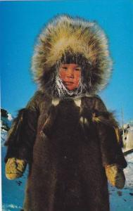 Eskimo Youngster , Yellowknife , N.W.T. , Canada , 40-60s