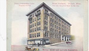 DULUTH, Minnesota, PU-1911; Hotel Holland