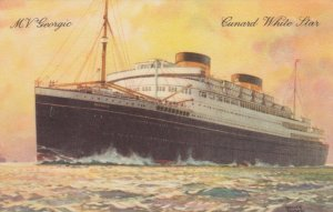 Cunard White Star Ocean Liner M.V. GEORGIC , 1930s