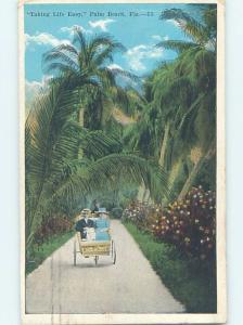 W-Border CART ON PATH Palm Beach Florida FL HJ7181