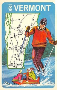 Ski Vermont Snow Skiing Unused
