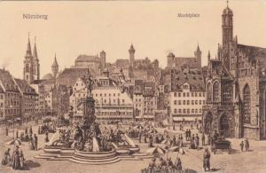 Marktplatz, Nurnberg (Bavaria), Germany, 1900-1910s